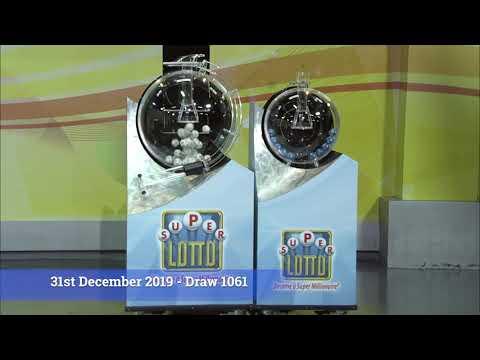 Super Lotto Draw 1061 12312019