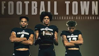 Calabasas: How a New Football Staff is Creating Top of the Nation Wide Receivers   Football Town