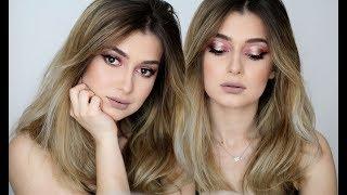 Too Face Chocolate Gold (review) // Machiaj cu glitter si eyeliner