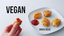 Vegan Snacks you gotta try make at Home!