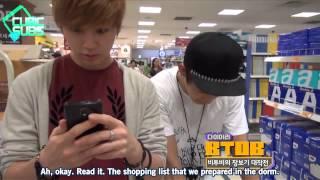 [CUBICSUBS] 120724 MTV Diary Ep. 18 - BTOB CUT