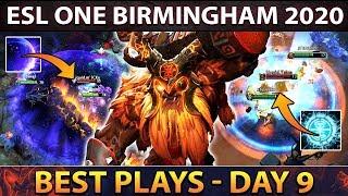 Best Plays ESL One Birmingham Day 9