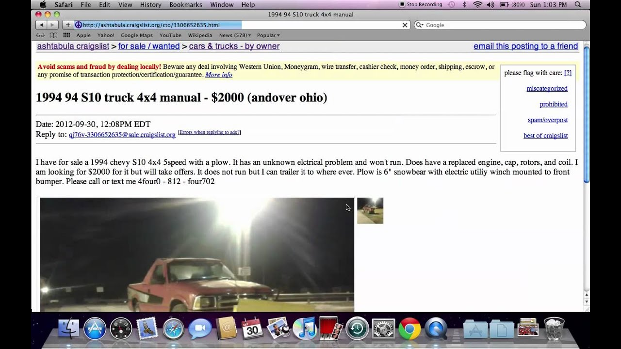 Craigslist Ashtabula Ohio Used Cars For Sale By Owner Deals