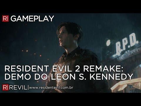 RESIDENT EVIL 2 REMAKE - DEMO COMPLETA DA E3 EM FULL HD   REVIL