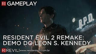 RESIDENT EVIL 2 REMAKE - DEMO COMPLETA DA E3 EM FULL HD | REVIL