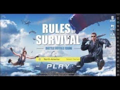 Hướng dẫn tải và cài đặt Rules Of Survival trên máy tính
