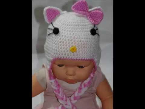 Touca Hello Kitty Em Croch Professora Simone Youtube