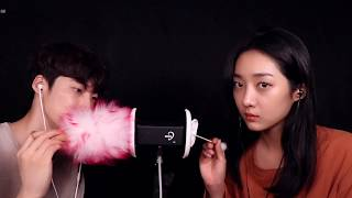 [ ASMR ] 친남매 귀청소 ear cleaning with my sister
