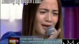 Deniece Cornejo VS Vhong Rap Battle Sagpro Films