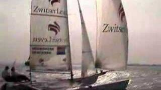 Dutch Olympic Tornado catamaran IJsselmeer (2006)