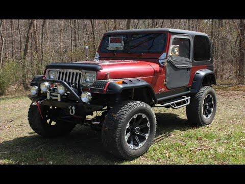 1992 jeep wrangler yj rock crawler mudder youtube. Black Bedroom Furniture Sets. Home Design Ideas