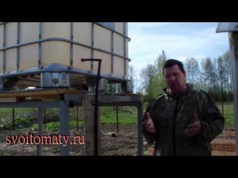 видео: Как организовать капельный полив в огороде