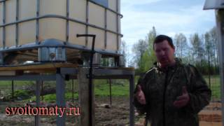 Как организовать капельный полив в огороде