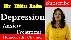 Homeopathic Treatment For Depression and Anxiety - घबराहट का इलाज इन हिंदी