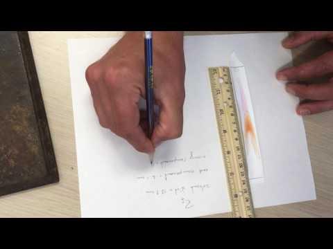 Rf calculations