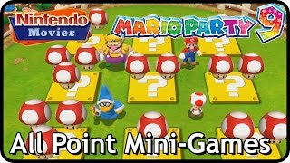 Mario Party 9 - All Point Mini-Games (2 Players, Master Difficulty)