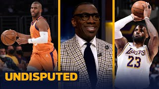 Skip & Shannon react to the Lakers' Game 4 loss to the Suns & AD's injury | NBA | UNDISPUTED