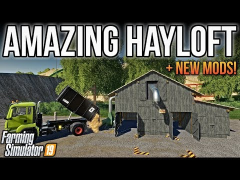 new-mods-fs19!-this-hayloft-has-a-secret!-(7-mods)-|-farming-simulator-19