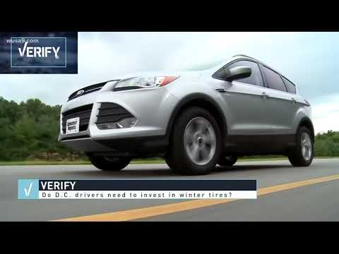 VERIFY: Should D.C. drivers invest in snow tires?