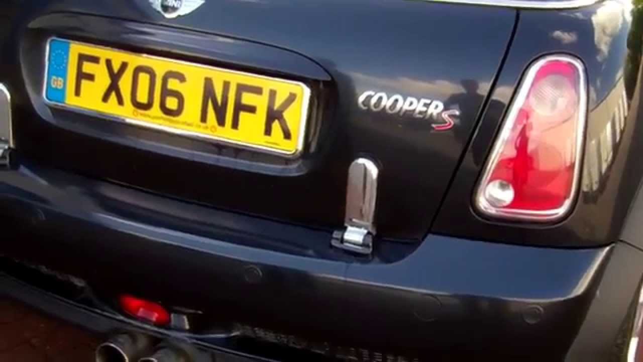 How To Fit Smoked Led Rear Lights In Bmw Mini One Cooper S