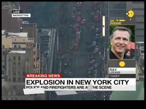 Breaking News: Explosion reported in mid-town Manhattan