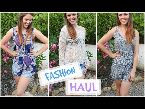Fashion Haul (Try-On) - H&M, Vero Moda & mehr | marahonig