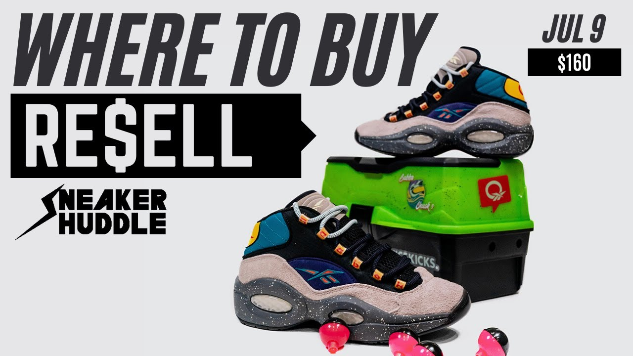 "DROPPING SOON!!! Nice Kicks x Reebok Question Mid ""BUBBA CHUCK"" 