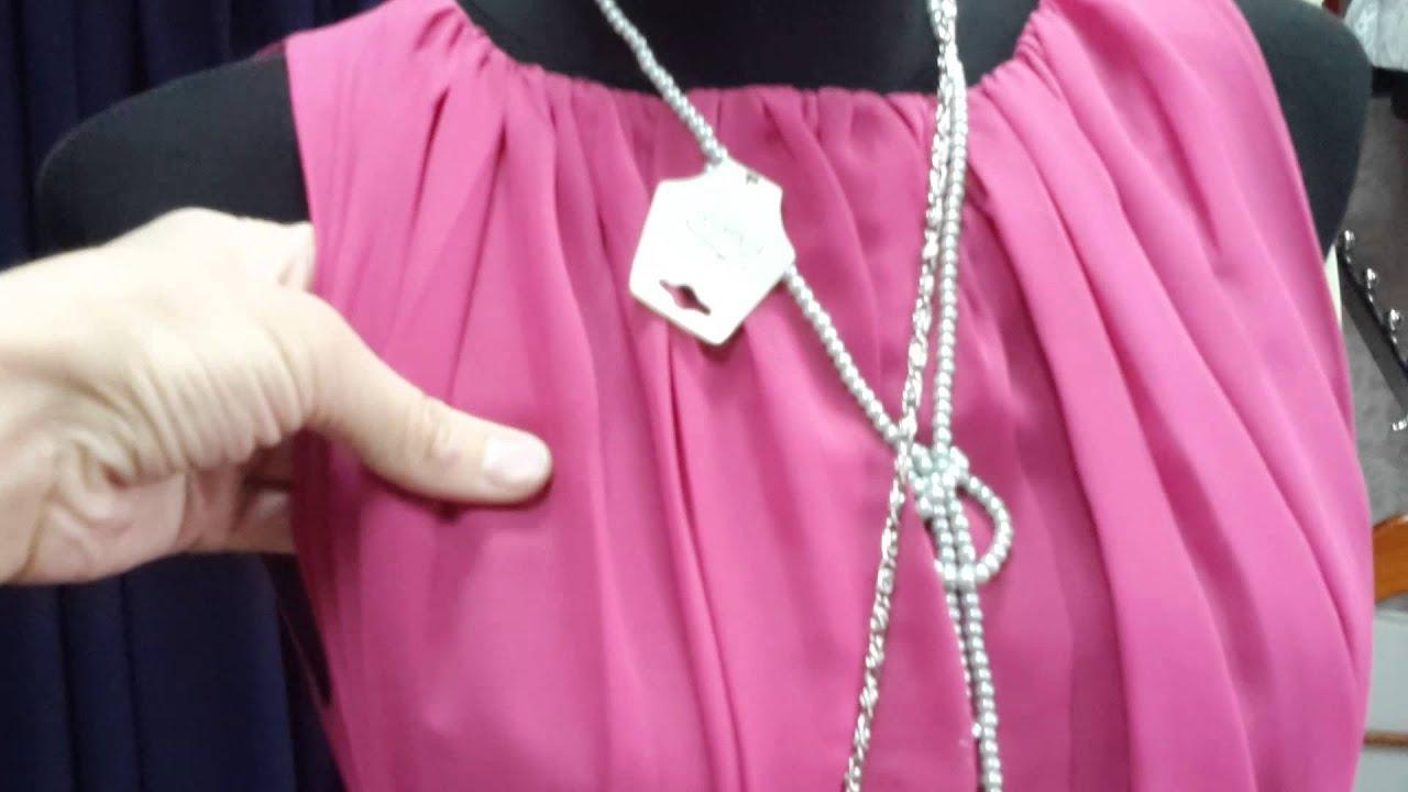 Выкройки платья из шифона видео
