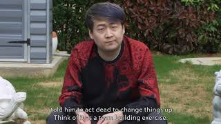 'The Dead Yang strat' Funny VICI Gaming Skit - TI9 The International 2019 - Dust of Appearance