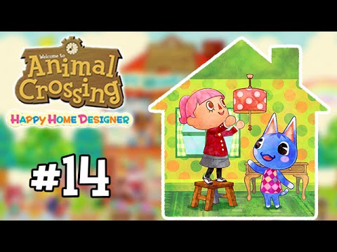 Animal Crossing : Happy Home Designer #14 - Les Galeries Lafayette ?