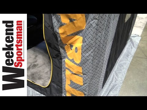 Frabill Predator Series Flip Over Ice Fishing Shelters | Weekend Sportsman | #Frabill_Inc