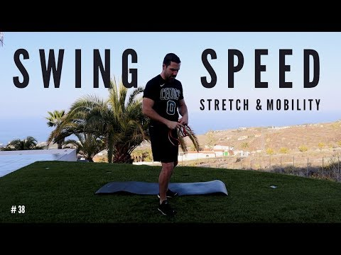 SWING SPEED STRETCHES | Golf specific stretches and mobility exercises