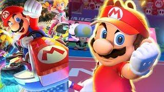 Mario Tennis Aces Demo & Mario Kart 8 Deluxe!
