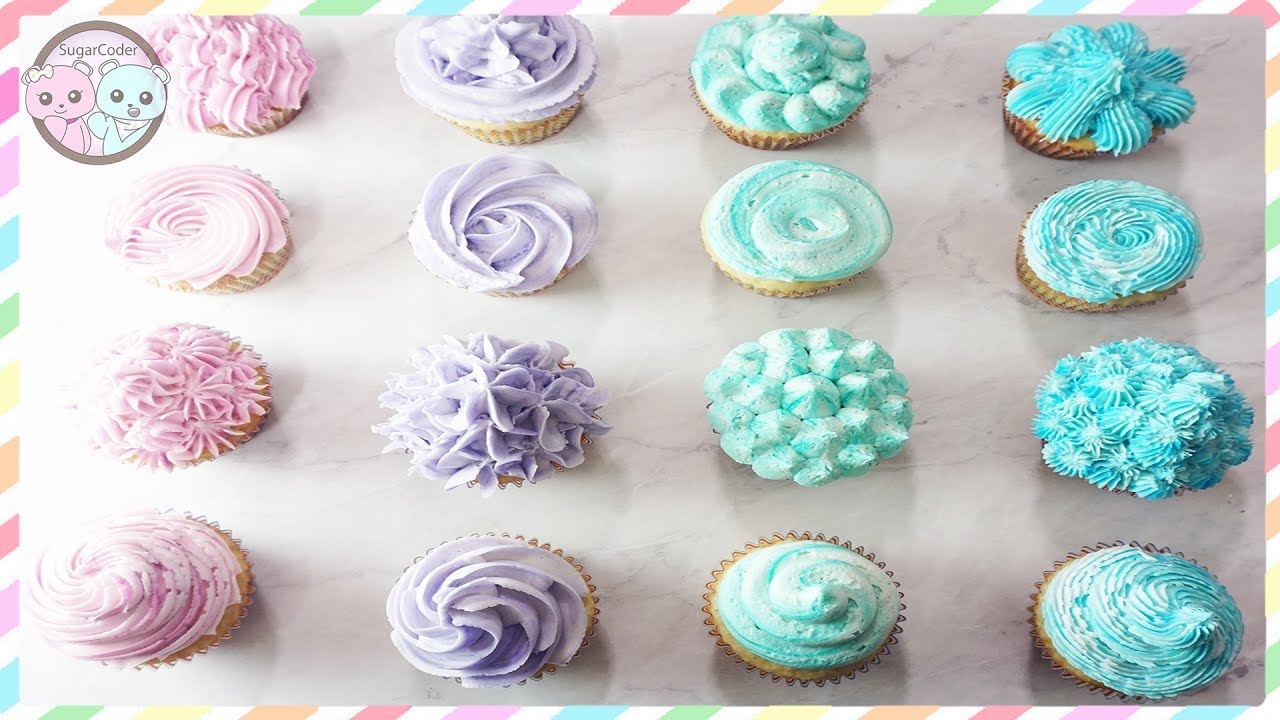 18 Cupcake Designs Decorating Ideas Cupcake Lovers Day Youtube