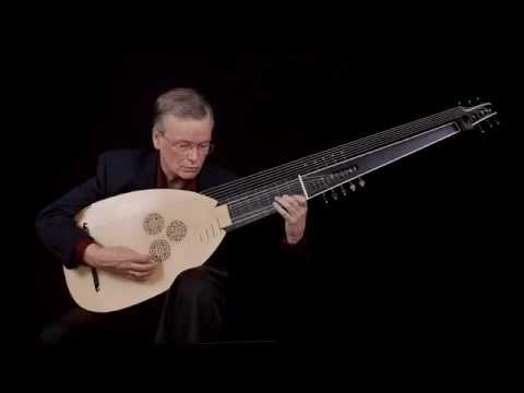 J.S. Bach: Partita in A Minor,  Allemande BWV 1013; David Tayler, archlute