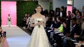 Oscar de la Renta Bridal Spring 2015 -- New York Bridal -- Interviews & Runway | Videofashion