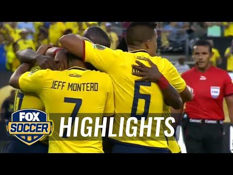 Antonio Valencia scores Ecuador's fourth goal vs. Haiti | 2016 Copa America Highlights