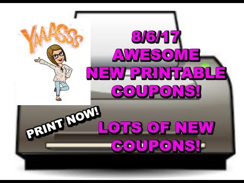 8/6/17:  NEW PRINTABLE COUPONS | ARM & HAMMER, PUREX CRYSTALS, DIAL , CREST & MORE!