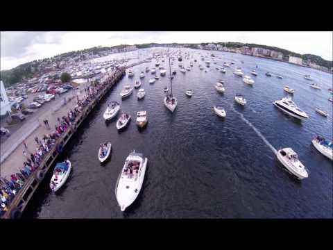 Båtkortesje Sandefjord 23.06.2014