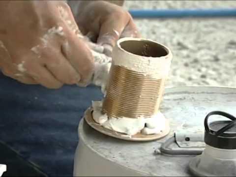 SSTV 12-18 - Perko Marine Hardware - Installing a Thru Hull fitting & Seacock