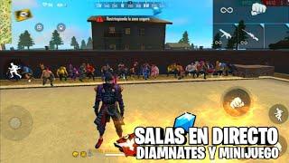 🔴DIRECTO DE FREE FIRE EN VIVO|SALAS PRIVADAS|PVP CON SUBS🎁