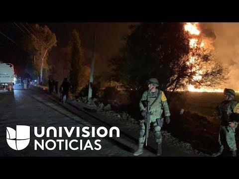 Decenas de personas muertas y al menos 70 heridas deja explosión de un ducto de gasolina en México
