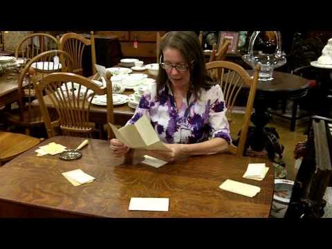 Civil War Antiques, Civil War Letter From Captain About Mobile, AL Battle.
