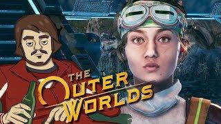 Мэддисон играет в The Outer Worlds #2 — Кетунцовая диета