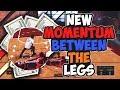 *NEW* MOMENTUM BETWEEN THE LEGS DRIBBLE SPAM - NBA 2K18!