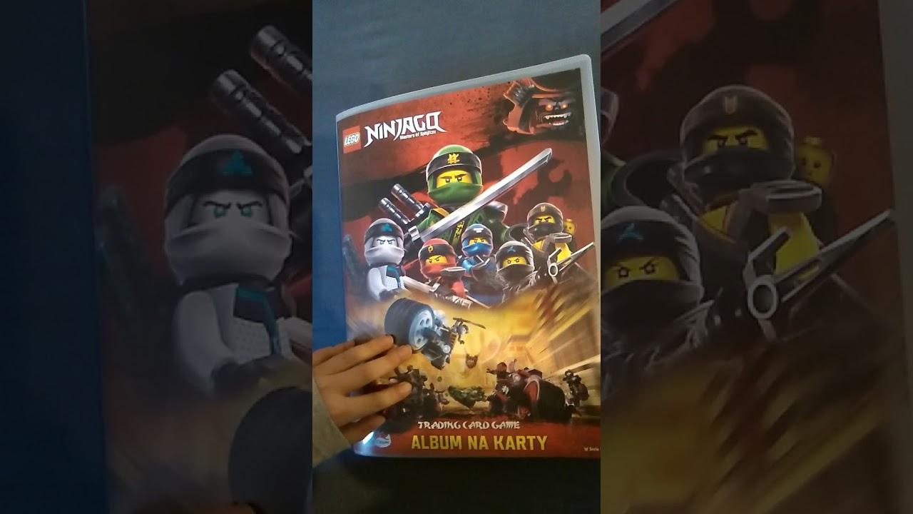 Karty Lego Ninjago Seria 3 1 Youtube