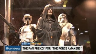 The Frenzy Over 'The Force Awakens' at Comic-Con