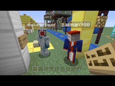 Minecraft Xbox - Speed Building Contest W/iBallistic Squid - The Final Round