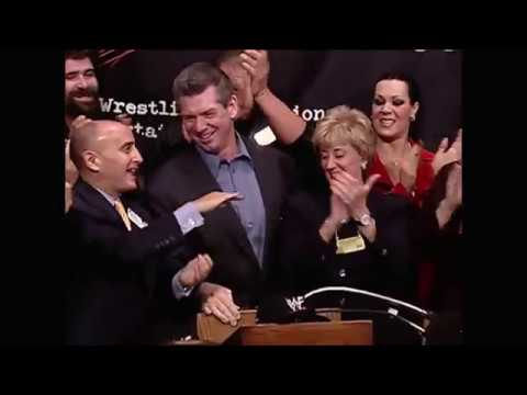 WWF's special event at Wall Street - entry into the NYSE - Oct 25, 2000