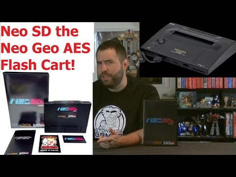 NeoSD (Neo Geo AES Flash Cartridge) Review - Adam Koralik
